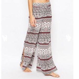 Akasa (Asos) Wide Leg Beach Trousers